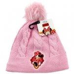 Czapka jesienna / zimowa Myszka Minnie : Rozmiar: - 54 cm