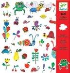 160 naklejek Zwierzęta z łąki