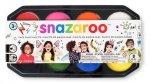 Zestaw farb do malowania twarzy SNAZAROO paleta 8 kolorów