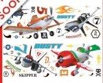 Naklejki Disney Planes Samoloty zestaw naklejek