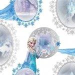 Tapeta Frozen Kraina Lodu Disney Lodowe Lustra