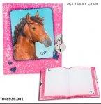 Pamiętnik z konikiem i kłódką Horses Dreams 8936