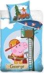 Pościel Świnka Peppa 160x200cm George