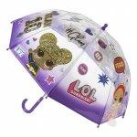Parasolka przezroczysta laleczka LOL Surprise parasol transparentny