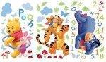 Naklejki Disney Kubuś Tygrysek i Kłapouchy