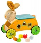 Jeździk sorter królik