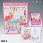 My Style Princess kolorowanka z naklejkami