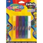 Farbki do tkanin 6szt Colorino Fabric Paints