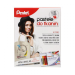 Pentel pastele do tkanin + Torba