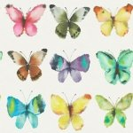Tapeta Motyle 273601 ENGLISH STYLE 2