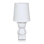 Lampka nocna MIŚ biurkowa Lampa stołowa nocna dziecięca BEAR 105792 biała
