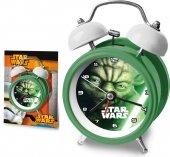 Budzik stojący zegar Star Wars Gwiezdne Wojny Yoda