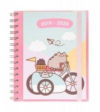 Kalendarz szkolny, agenda 2019/2020 Pusheen Gold