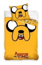 Pościel Pora Na Przygodę 160x200cm komplet pościeli Adventure Time Jake
