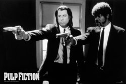 Pulp Fiction - Pistolety - plakat