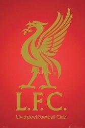 FC Liverpool - The Reds - Godło Klubu - plakat