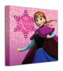 Frozen Anna Pink - Obraz na płótnie