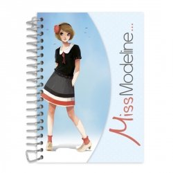 Podręczny szkicownik i notatnik Alex Miss Modeline