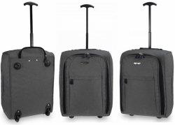 Walizka podróżna bagaż podręczny kolory TB05 Tweed