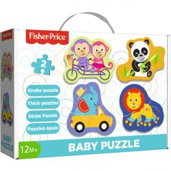 Trefl Baby Classic Radosne zwierzątka 36081 puzzle
