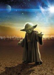 Fototapeta Star Wars Gwiezdne Wojny Mistrz Yoda