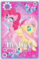 Pled Koc Kocyk MLP Kucyki My Little Pony 100x150cm pink
