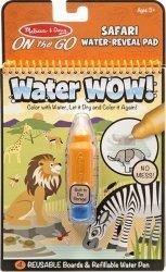 Kolorowanka Wodna Water Wow Safari Malowanka Melissa 19441