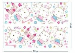 Naklejki Króliczek Funny Bunny