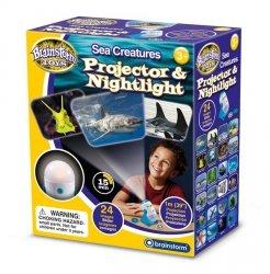 Lampka nocna i projektor slajdów Morskie Zwierzęta