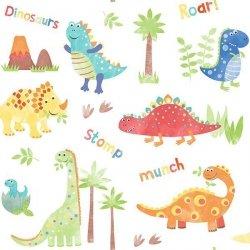 Tapeta w Dinozaury Tiny Tots G45129