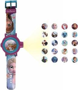 Zegarek z projektorem Frozen Kraina Lodu