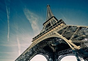 Tour Eiffel Paris France - fototapeta