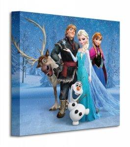 Frozen Group - Obraz na płótnie