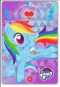 Pled Koc Kocyk MLP Kucyki My Little Pony 100x150cm