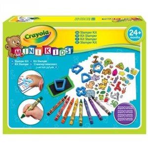 Zestaw kreatywny ze stempelkami Mini Kids