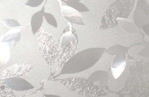 Statyczna folia okienna 90x150 Fantazyjne liście