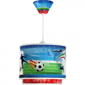 Lampa sufitowa Football Piłkarze Stadion Piłka zwis