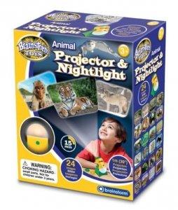 Lampka nocna i projektor slajdów Zwierzęta