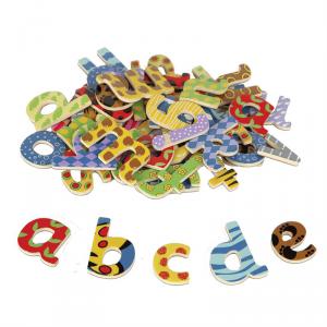 Magnesy na lodówkę małe Literki - Alfabet - Litery 58szt