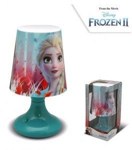 Lampka nocna Disney Frozen biurkowa Kraina Lodu LED new