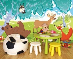 Fototapeta na flizelinie Leśne zwierzątka XL