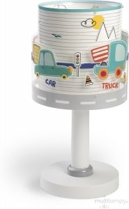 Lampka Nocna POJAZDY stojąca na szafkę Samochody