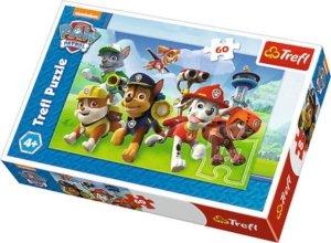 Puzzle 60el Psi Patrol Gotowi do akcji 17321 TREFL