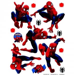 Naklejki Duża Naklejka SpiderMan