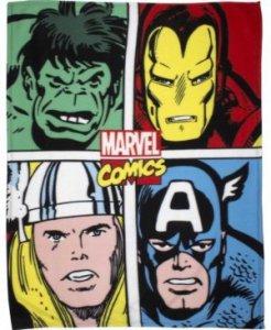 Kocyk polarowy Hulk Komiks Marvel 120x150cm NEW