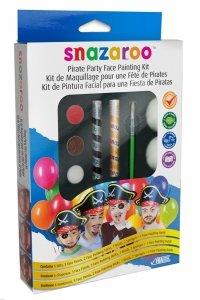 SNAZAROO Zestaw do malowania twarzy PARTY Piraci Farby