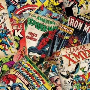 Tapeta Marvel Hero Spiderman Komiks Okładki