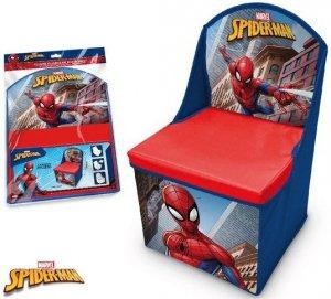Pufa z oparciem Pudełko SpiderMan