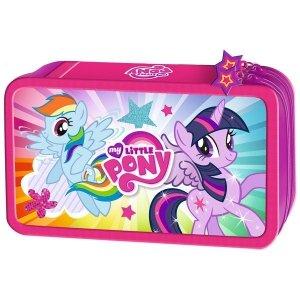 Piórnik podwójny z wyposażeniem My Little Pony