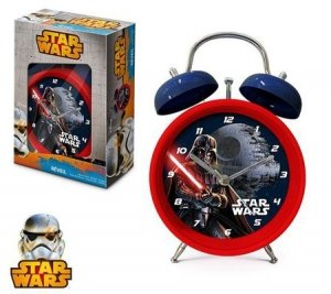 Budzik stojący zegar Star Wars Gwiezdne Wojny Lor Vader